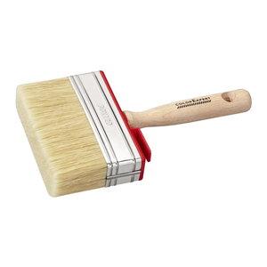 Color Expert Color Expert Blokwitter muurverf 120x30 mm - wit haar - FSC® houten greep - 83091399