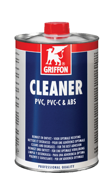 Griffon Griffon Cleaner Reinigingsmiddel voor (hard) PVC, PVC-C en ABS - 1 Liter