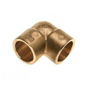 Bonfix Bonfix 81640 Messing Soldeer knie 90° - 12 x 12 mm