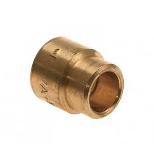 Bonfix Bonfix 82070 Messing Soldeer verloopsok - 22 x 15 mm