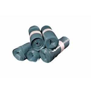 Vuilniszak - afvalzak LDPE blauw T70 - 70 x 110 mm - 20 stuks