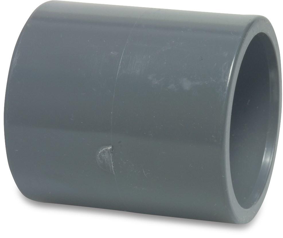 PVC Sok druk Ø20 t/m Ø125 mm - 16 bar