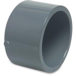 PVC Lijmkap druk Ø20 t/m Ø125 mm - 16 bar