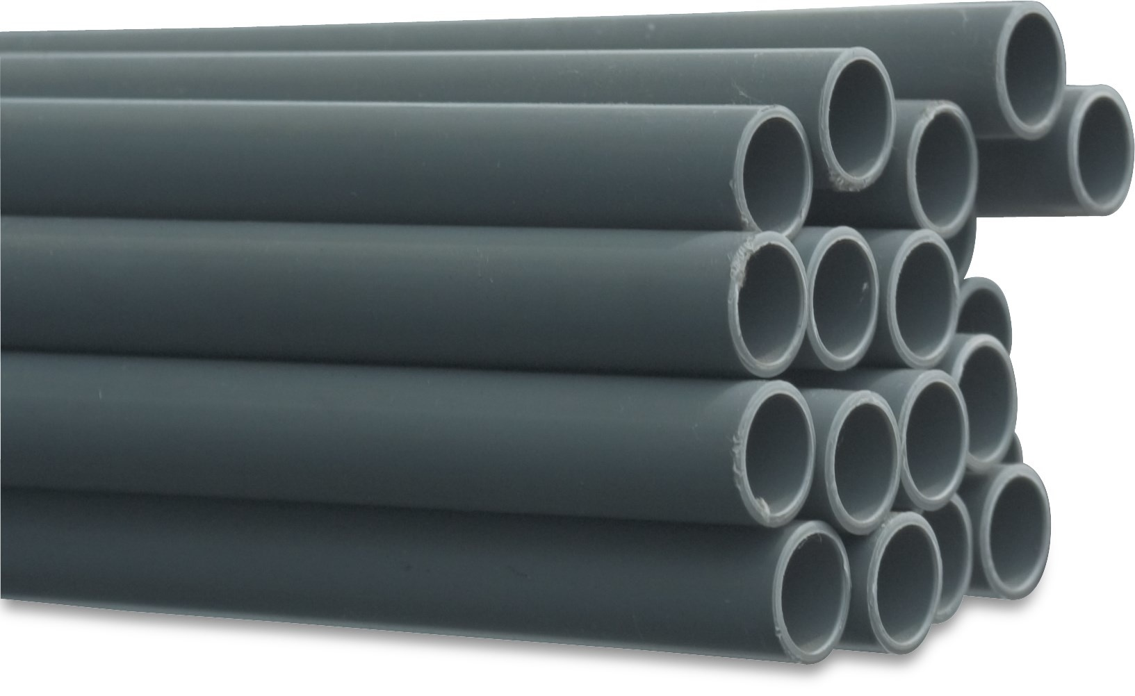 PVC Drukbuis Ø20 t/m Ø125 mm - 7,5 - 16 bar
