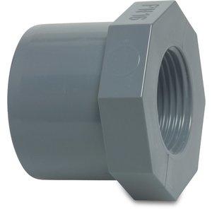 PVC Inlijmring zes-/ achtkant binnendraad druk - 16 bar
