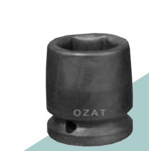 "Ozat Ozat Krachtdop 1/2"" kort - 6-kant"