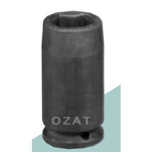 "Ozat Ozat Krachtdop 1/2"" lang - 6-kant"