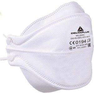 Delta Plus - your safety at work Delta Plus M1204C Halfgelaatsmaskers - mondkapjes FFP2 M1204 - 20 stuks