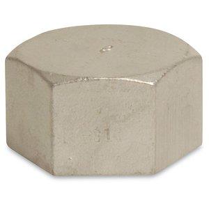 Mega Eindkap met zeskant nr. 300 - RVS 316 - 1x binnendraad