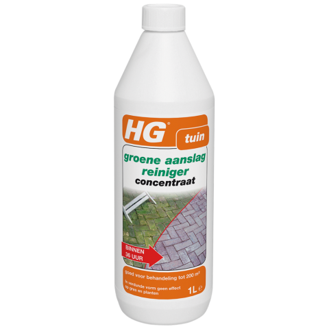 HG HG Groene aanslagreiniger - 1 liter