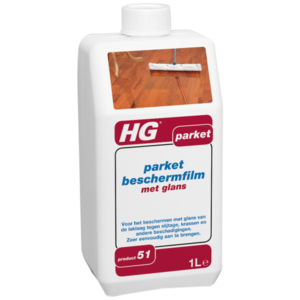 HG HG Parket beschermfilm met glans nr. 51 - 1 liter