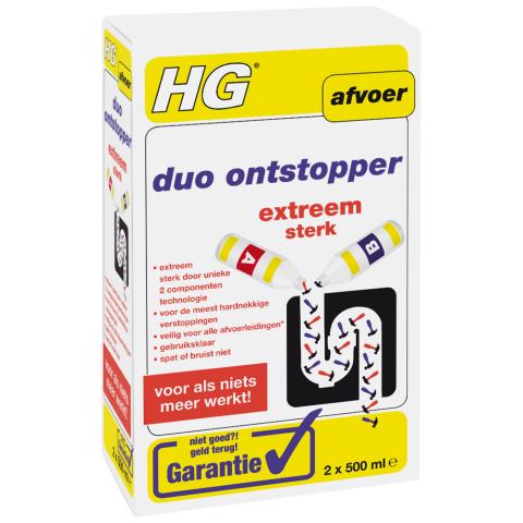 HG HG Duo ontstopper - 1 liter