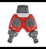Gardena Talen tools 2-weg waterverdeler - TW29