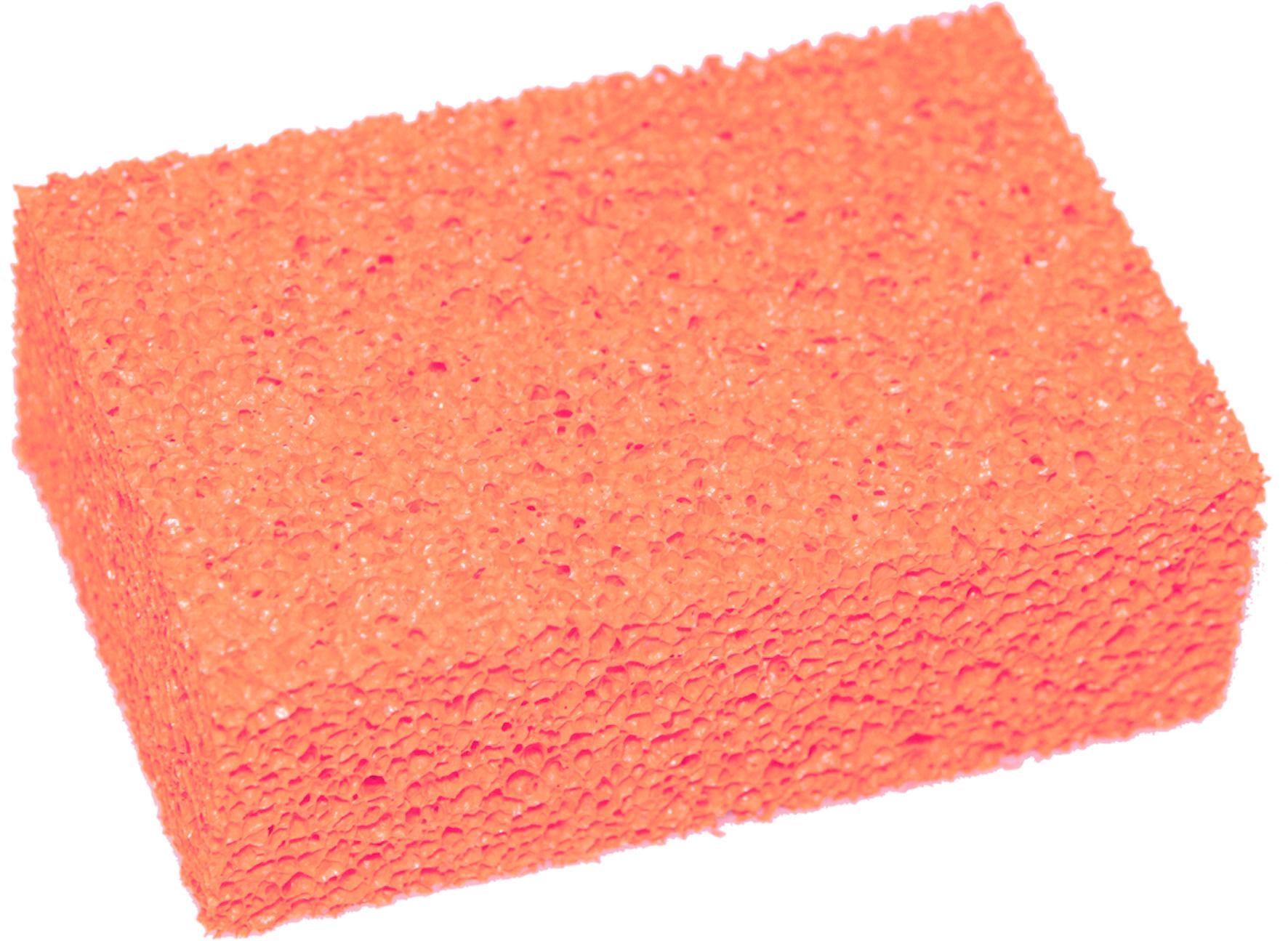 HEVU TOOLS HEVU Tegelspons 150x100x50 mm - Schuimrubber - rood
