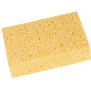 HEVU TOOLS HEVU Algemene spons 200x120x60 mm - polyester - geel