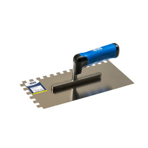 HEVU TOOLS HEVU Lijmspaan getand 280 mm - RVS - 2K-softgrip handvat