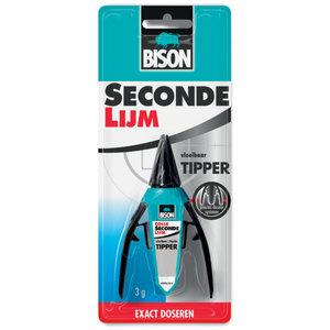 Bison Bison Secondelijm tipper® vloeibaar - 3 gram