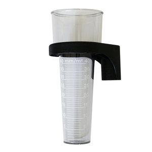 MA MA Regenmeter Ø8 cm H=20 cm - kunststof glas