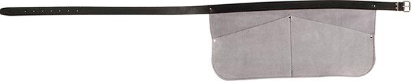 Melano Melano Spijkershort solid - 220x470 mm - rundleder grijs - 6335-22
