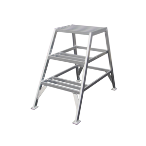 ASC group ASC Stukadoorstrap 1x3 treden - aluminium - 150 kg
