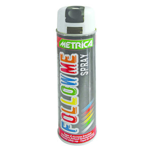 Metrica Metrica Markeringsspray - Follow me spray - wit - 500 ml
