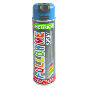 Metrica Metrica Markeringsspray - Follow me spray - blauw - 500 ml