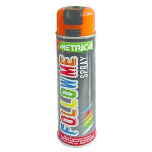 Metrica Metrica Markeringsspray - Follow me spray - oranje - 500 ml