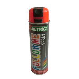 Metrica Metrica Markeringsspray - Follow me spray - rood - 500 ml