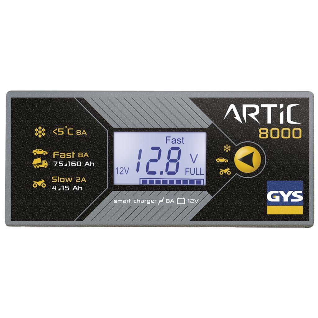 Gys Gys Acculader Artic 8000 - 6 - 12V - 130 W - 029590