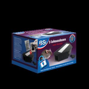Bsi BSI Lokaasdozen voor muizen - 3 stuks - 64086