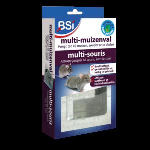 Bsi BSI Multi-muizenval - gegalvaniseerd metaal -  25497