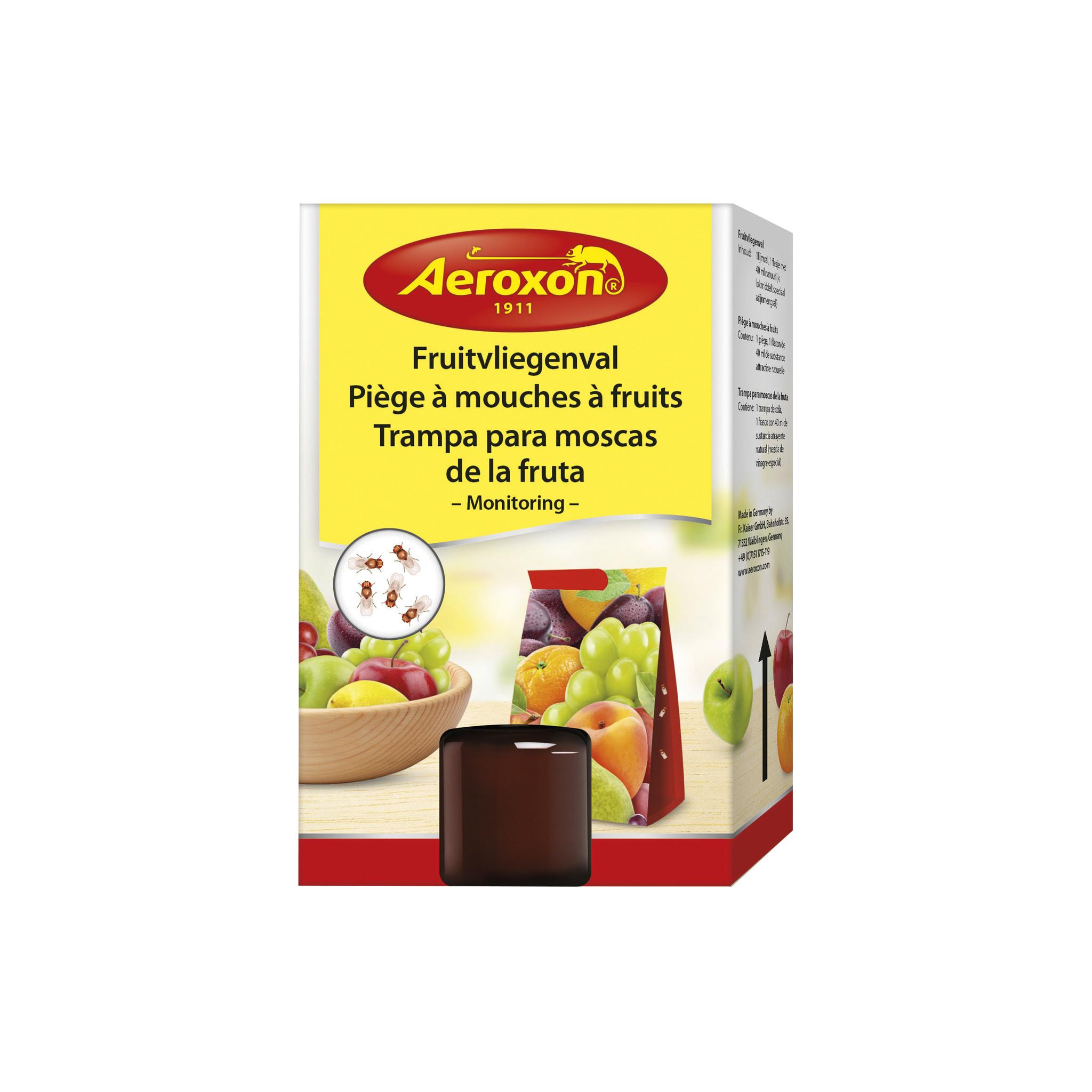 Aeroxon Aeroxon Fruitvliegenval - fruitvliegjes vanger - 40 ml