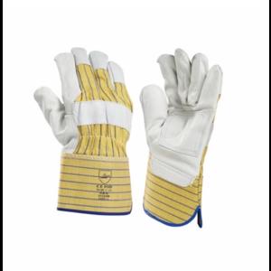 HBV safety gloves HBV 1014VW werkhandschoen palmversterkt - rundleer - 10 XL