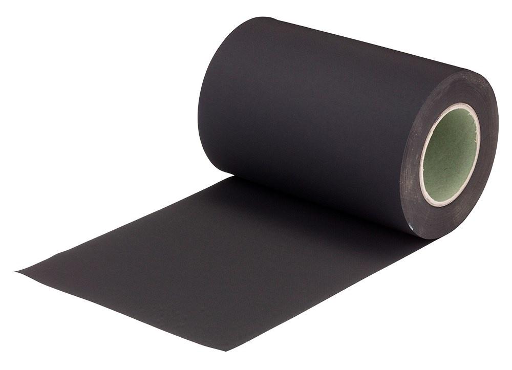 Premiumfol EPDM 20m x 0,5 mm - 15 t/m 40 cm - zwart