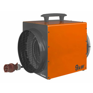 Eurom Eurom Heat-Duct-Pro 9kW Elektrische werkplaatskachel - 9000 watt - 400V- 1227 m³/u - 332483