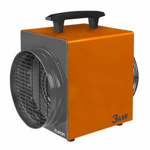 Eurom Eurom Heat-Duct-Pro 3kW Elektrische werkplaatskachel - 3000 watt - 230V- 389 m³/u - 332469