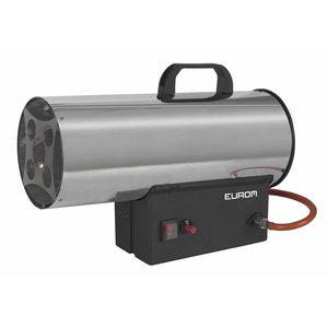 Eurom Eurom HKG-15 Heteluchtkanon op gas - 1 kg/u - 300m³/u - 322125