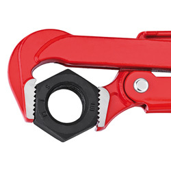Knipex Knipex Pijptang 90° - 650 mm - Ø105 mm - rood poedergecoat - 83 10 030