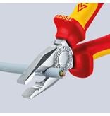 Knipex Knipex Combinatietang - 180 mm - gepolijste kop - 03 02 180