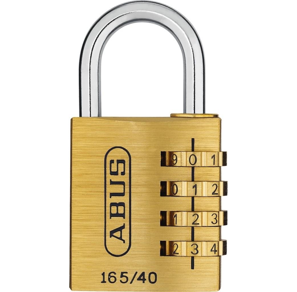 ABUS Abus 165/40 Cijferhangslot - 4 cijfers - 40 mm