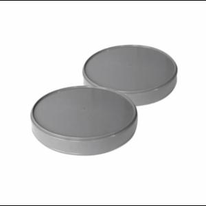 HWA PVC Eindkap - grijs - 1x mof