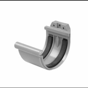 Nicoll Nicoll PVC Verbindingsstuk met rubber inlage tbv mastgoot - grijs