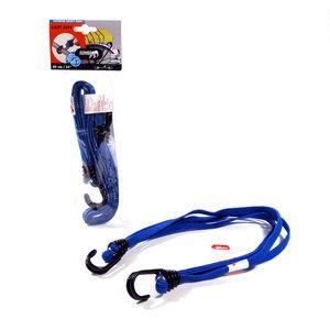 Jumbo products Jumbo Platte bagagebinder 60 cm - dubbelgevouwen haken - blauw