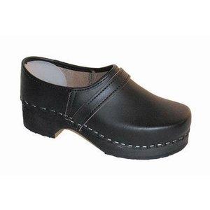 Comfort Comfort 960 Klompen - dichte hiel - zwart - leer