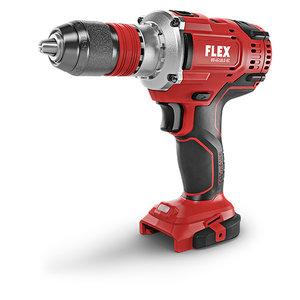 Flex powertools Flex DD 4G 18.0-EC Accu boor- schroefmachine 18.0V - 4 snelheden - koolborstelloos - L-BOXX® - 447.765