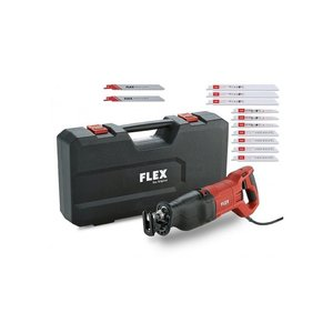 Flex powertools Flex RS 13-32 Reciprozaag met 13-delige zaagbladenset - 1300W - koffer - 471.283