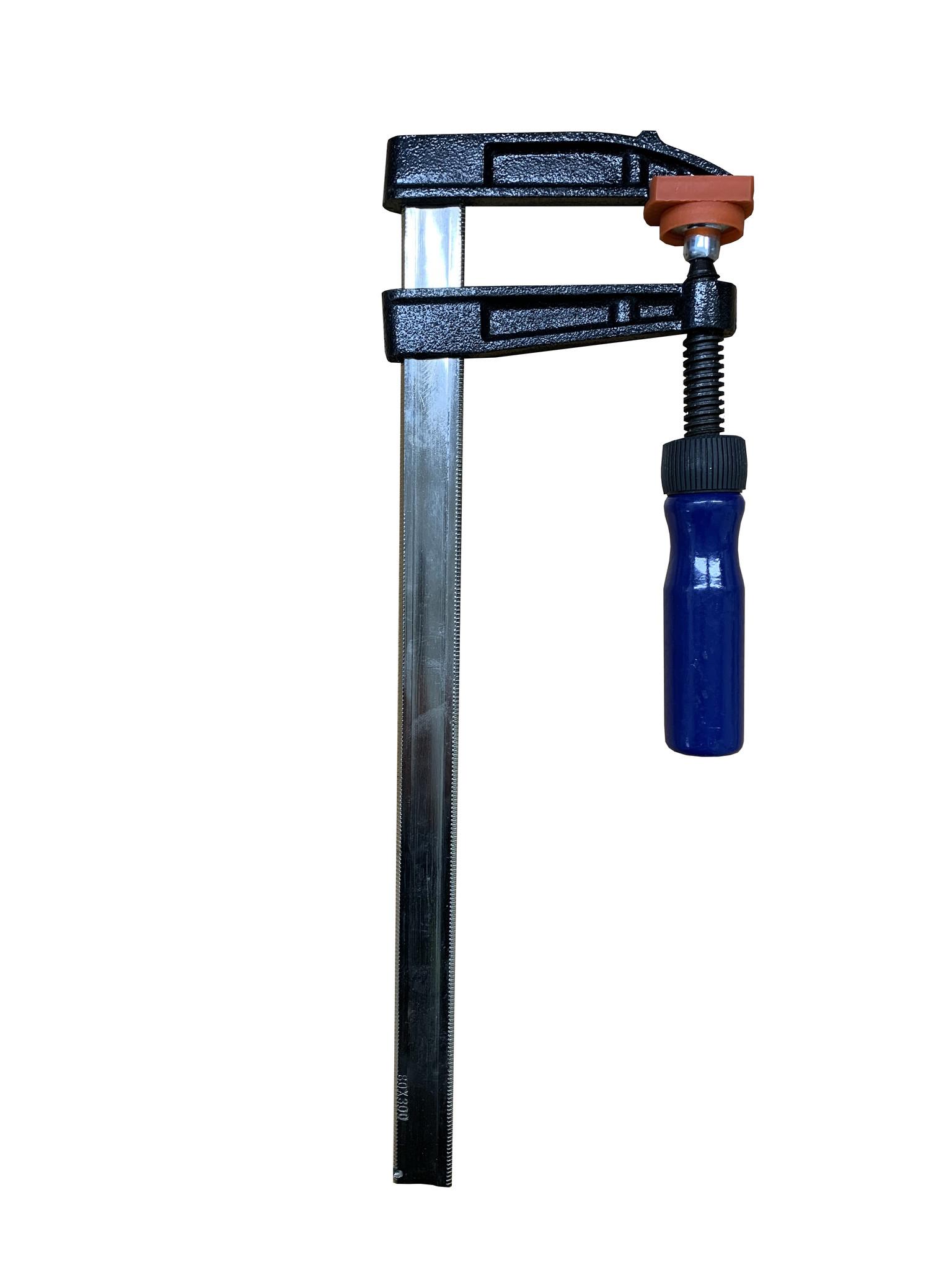 HEVU TOOLS HEVU Lijmtang 300x80 mm - DIN5117 - houten handvat