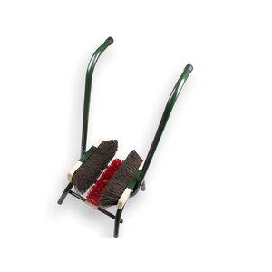 Solide Solide voetenveger 75 cm staand model - 3 borstels - staal - 1490226