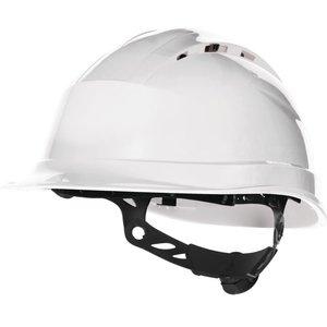 Delta Plus - your safety at work Delta Plus QUARTZUP4 Bouwhelm - werfhelm - geventileerd -  wit