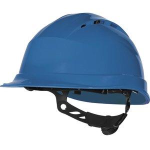 Delta Plus - your safety at work Delta Plus QUARTZUP4 Bouwhelm - werfhelm - geventileerd -  blauw